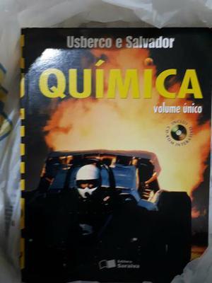 Livro Química volume único Edgard Salvador/ João Usberco