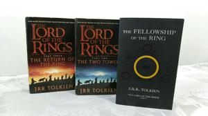 Livro Trilogia The Lord of the Rings (inglês)