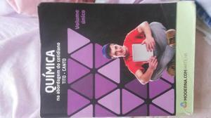 Livro de Química Editora Moderna