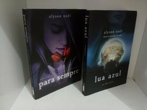 Livros da série Os Imortais - Para Sempre e Lua azul