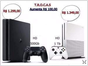 Ps4 Slim 500Gb / Xbox one S 1 Tera