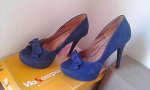 Sandalias e Sapatos de Saltos