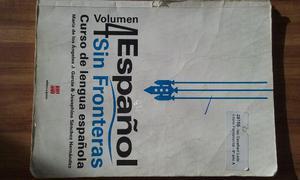 Espanol Sin Fronteras Volumen 4 / Livro de Espanhol