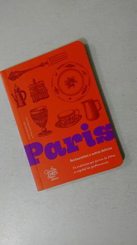 Livro - Paris - restaurantes e outras delícias