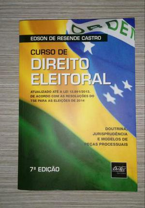 Livro de Direito Eleitoral