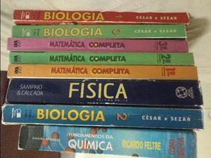 Livros didáticos para Ensino Medio