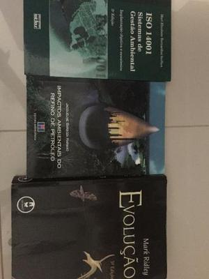 Livros para os cursos de Biologia, Farmacia, Enfermagem e