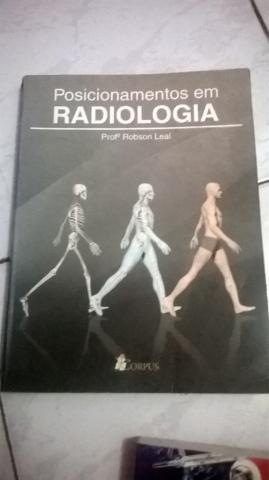 Três livros de Radiologia