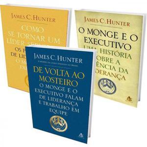 3 livros da série: O monge e o executivo