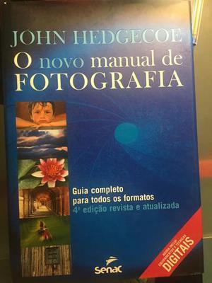 """Livro """"O novo manual da fotografia"""""""