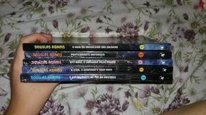 Livro box o guia do mochileiro das galáxias