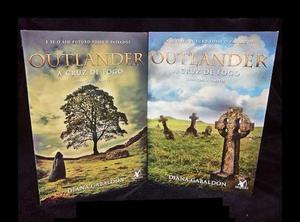 Livros Outlander Cruz de Fogo - Parte 1 e 2