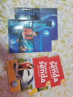 Livros de inglês e espanhol aslan