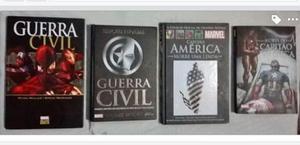 Saga Guerra Civil - Marvel (HQ's e Livros)