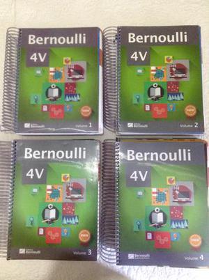 Apostilas Bernoulli 4v (Pouco usadas)