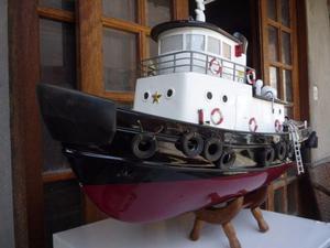Barco rebocador petrobras rc gigante lindo