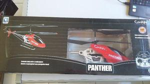 Helicoptero Candide Panther H-18 Pro Flight 3 Canais RED