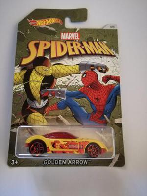 Hot Wheels - Golden Arrow Spider-Man