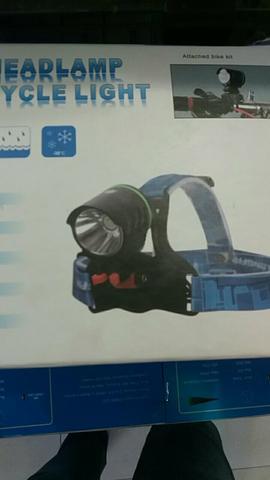 Lanterna para bicicleta/cabeça