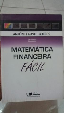Livro MATEMÁTICA FINANCEIRA FÁCIL