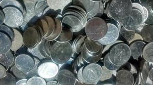 Lote com 990 moedas antigas