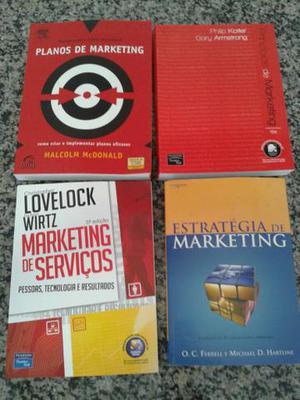 Lote livros de marketing | Livros novos!