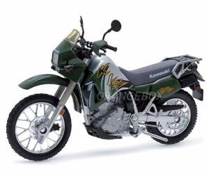 Miniatura Kawasaki Klr  Welly 1:18 Super Máquina