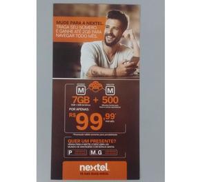 Plano Nextel controle, a partir de R$