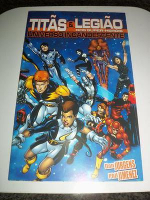 Titãs e Legião dos Super-Heróis 1 (Editora Mythos - )