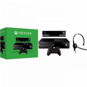 Console Xbox One 500GB Sensor Kinect Headset com Fio