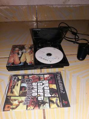 PlayStation2 + 1 Controle 1 Jogo só 220