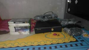 Xbox 360 com 9 jogos e kinect