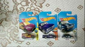 3 hot wheels por . (Diadema)