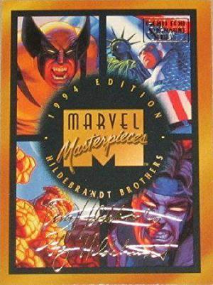 Coleção Completa Cards Marvel Masterpieces  Raríssimo