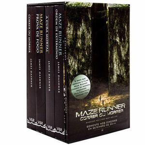 Coleção maze runner - 5 volumes