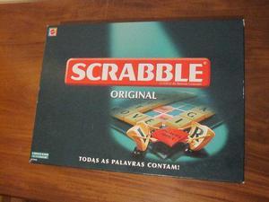 Jogo Scrabble Original Mattel Completo