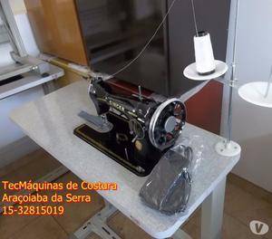 Máquina de Costura SINGER 15C.COMPLETA.