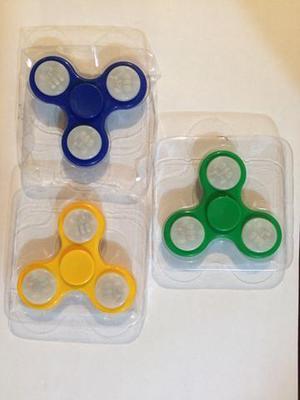 Spinner com led lote com 10 peças