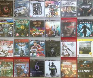 Jogos para PlayStation 3 aceitamos cartão
