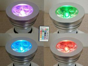 Lâmpada de led RGB com controle