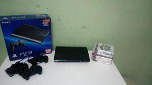 Ps3 super slim 250 gb + jogos