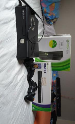 Xbox na caixa