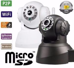 Câmera Ip Sem Fio Wi-fi Vísão Noturna Gira 360 graus