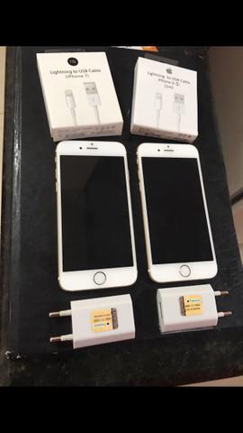 Iphones 6 de 64gb hiper novo!!!! Todo original!!! Otimo