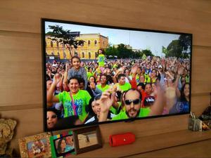 Smart tv led Samsung 55 polegadas ultra HD 4k
