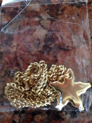 Gargantilha em ouro
