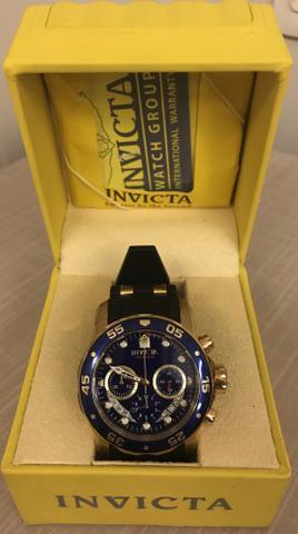Relógios novos e originais: Invicta e Fóssil