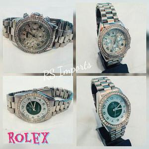 Relogio Rolex Feminino em Aço