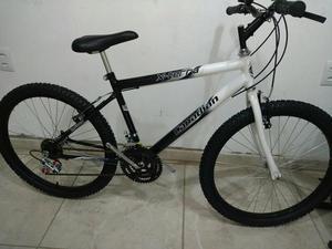 Bicicleta masculina aro 24 com 18 marchas nova