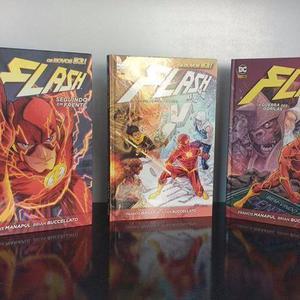 Coleção Capa Dura Panini: Flash 1, 2 E 3